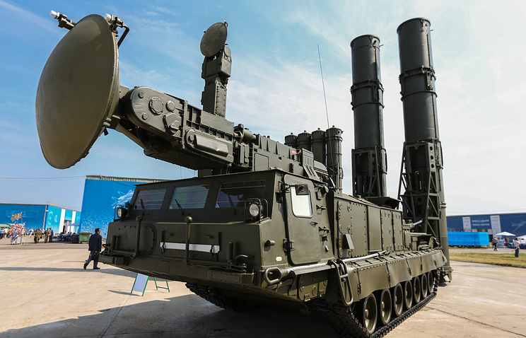 S-300V surface-to-air missile system