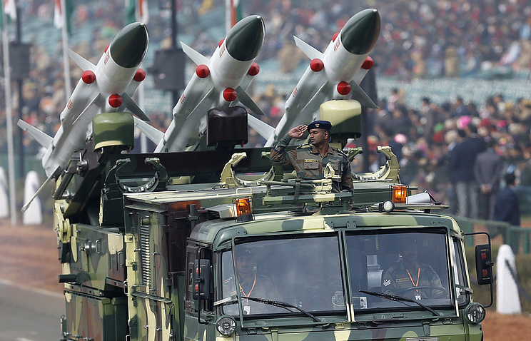 Akash missiles that are similar in characteristics to the new Maitri missile