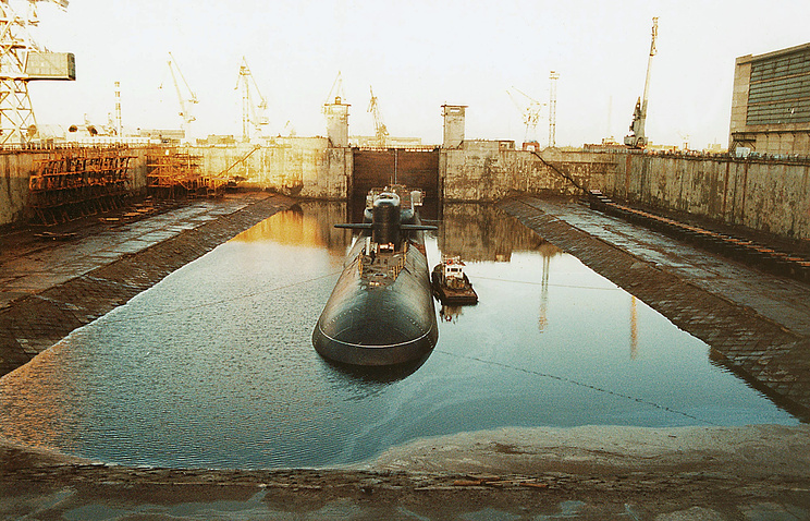 At the Zvyozdochka shipyard (archive)