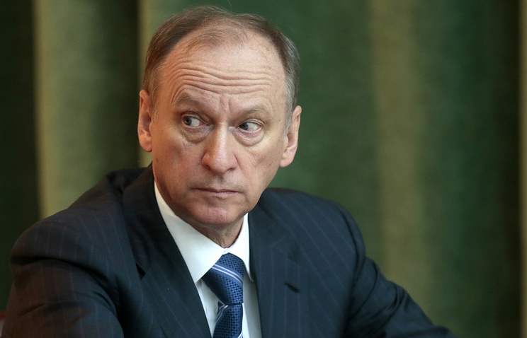 Nikolai Patrushev, the secretary of the Russian Security Council