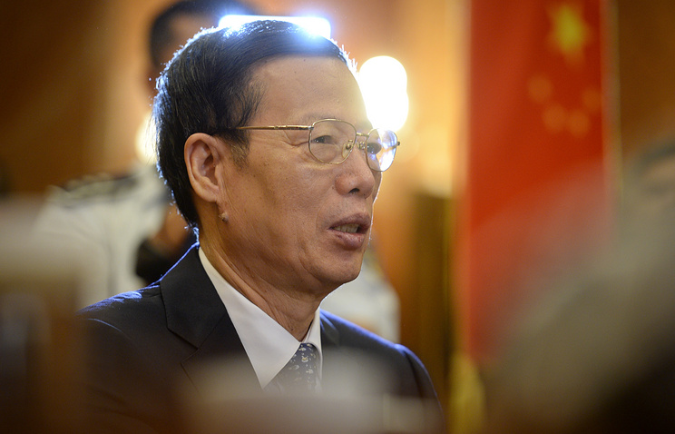 Vice Premier of China, Zhang Gaoli