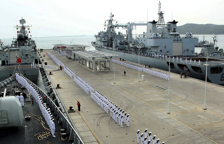 China Navy's destroyers