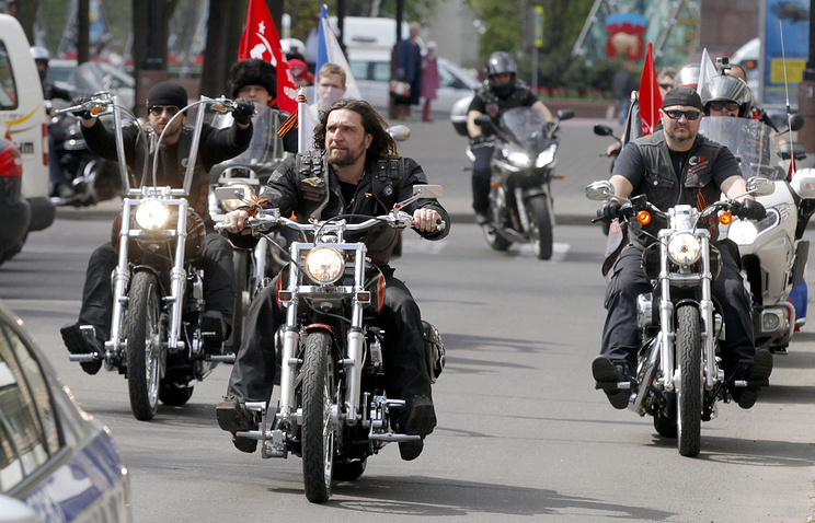 Alexander Zaldostanov, Russian bikers' club Night Wolves leader (front)