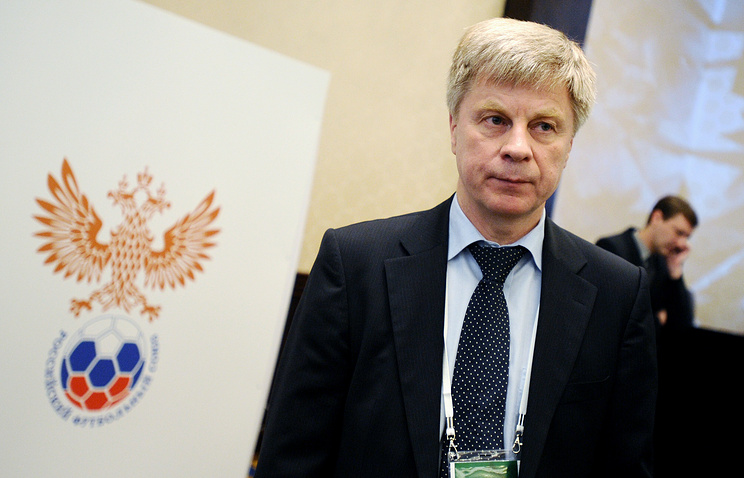 Nikolai Tolstykh, president of Russian Football Union