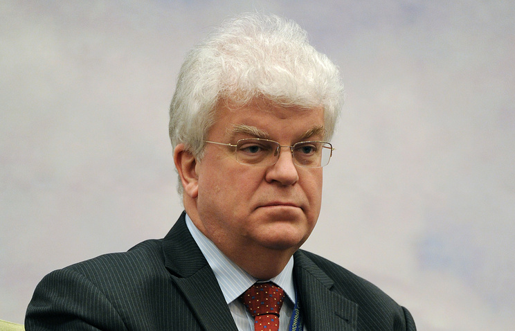 Russian Permanent Representative at the EU Vladimir Chizhov