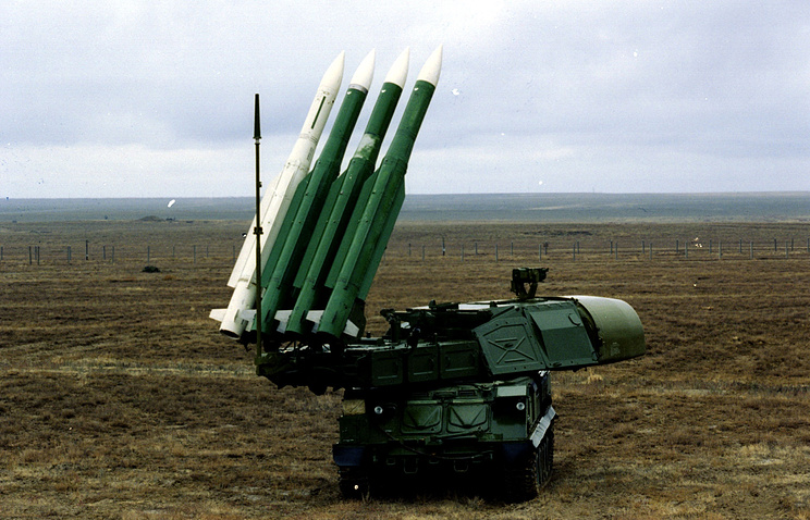Buk M1 air defense system