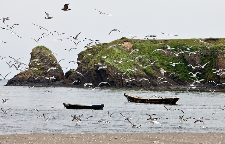 One of the Kuril Islands