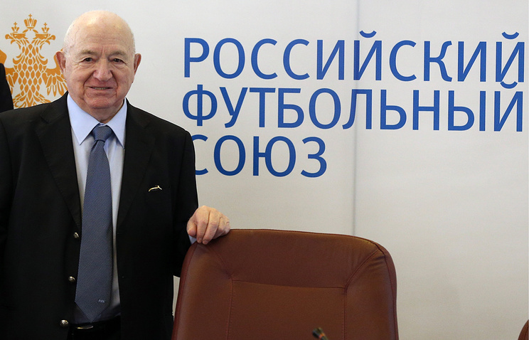 Nikita Simonyan, the acting president of the Russian Football Union (RFU)