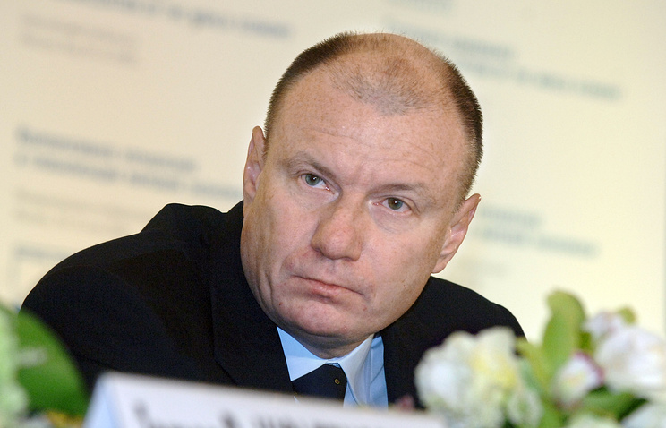 Vladimir Potanin, CEO of Norilsk Nickel