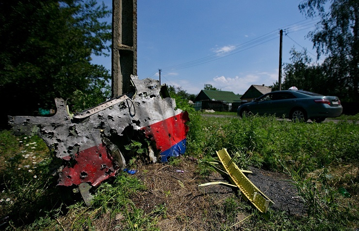 MH17 flight debris