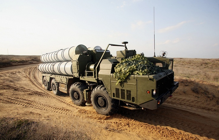 S-300 air defense system
