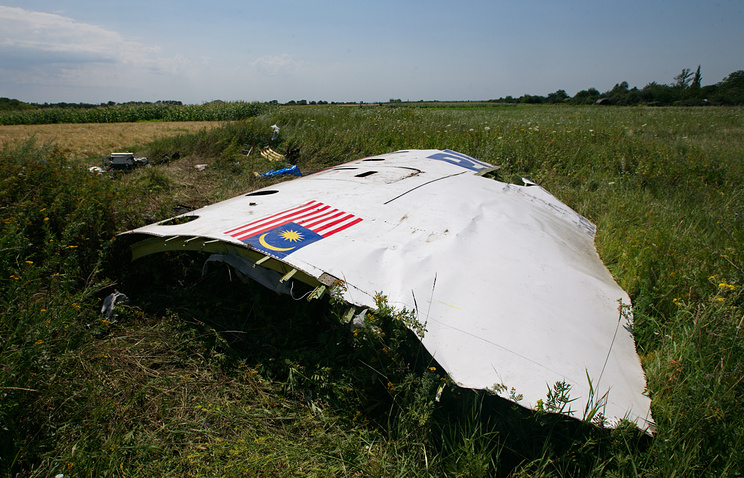 Site of MH17 crash in Donbas