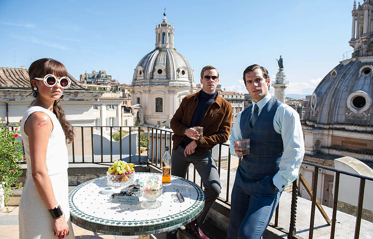 "Scene from ""The Man from U.N.C.L.E."""