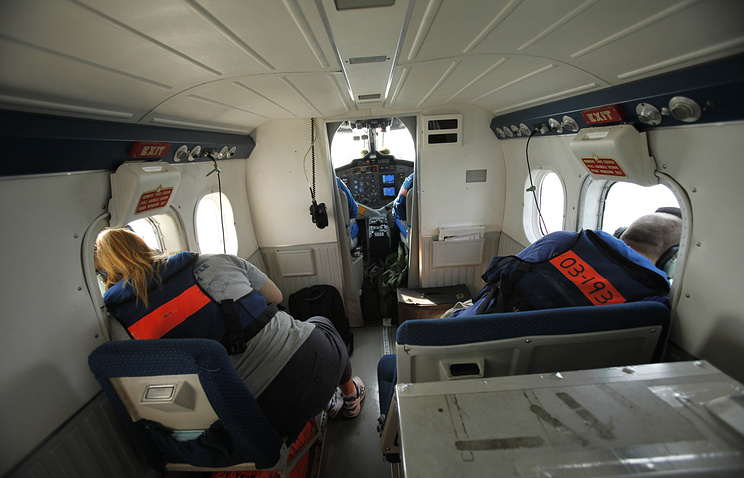 Inside the DHC-6 Twin Otter Series aircraft (archive)