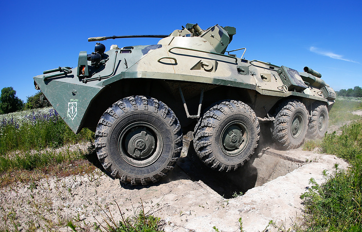 BTR-82 armored vehicle