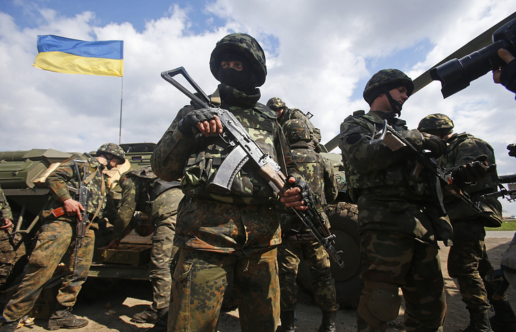 Ukrainian Army troops (archive)