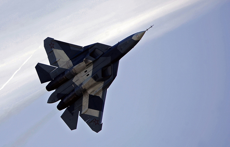 Russia's fifth-generation fighter PAK FA