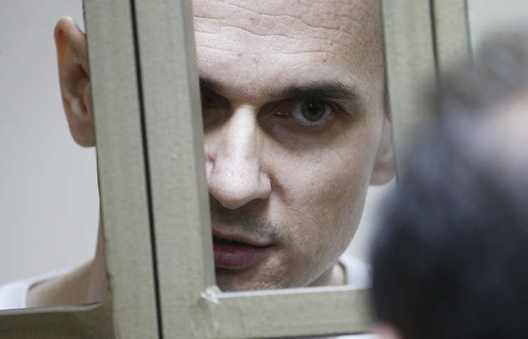 Ukrainian filmmaker Oleg Sentsov found guilty of conspiracy to commit terrorist attacks in Crimea and sentenced to 20 years in prison