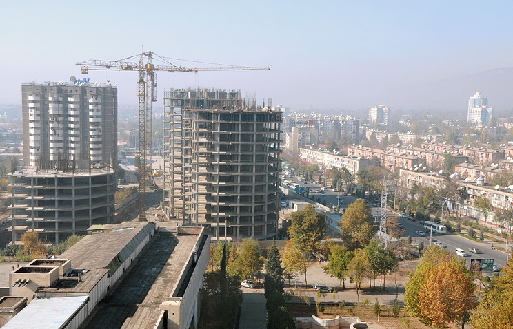 A view of Dushanbe (archive)
