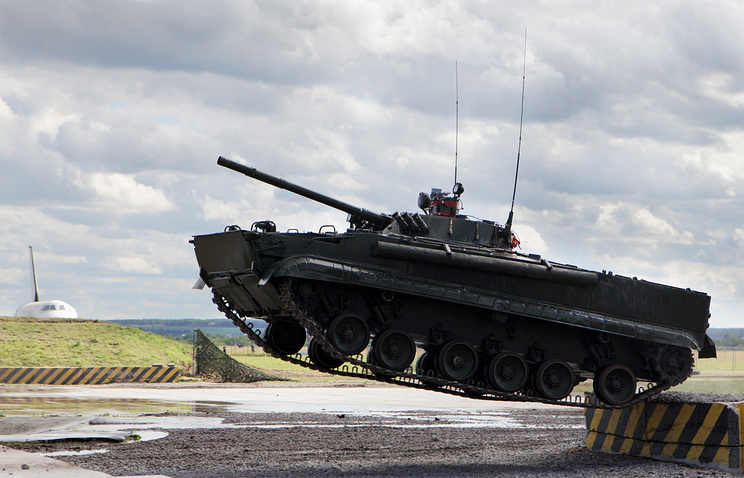 Russia's BMP-3 combat vehicle