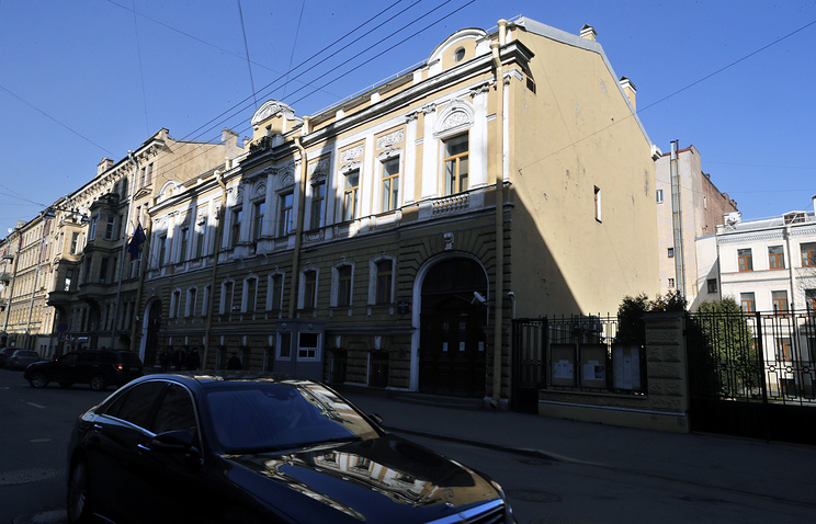 Polish Consulate building in St. Petersburg