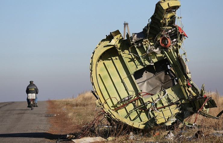 MH17 crash site in Donbas (archive)