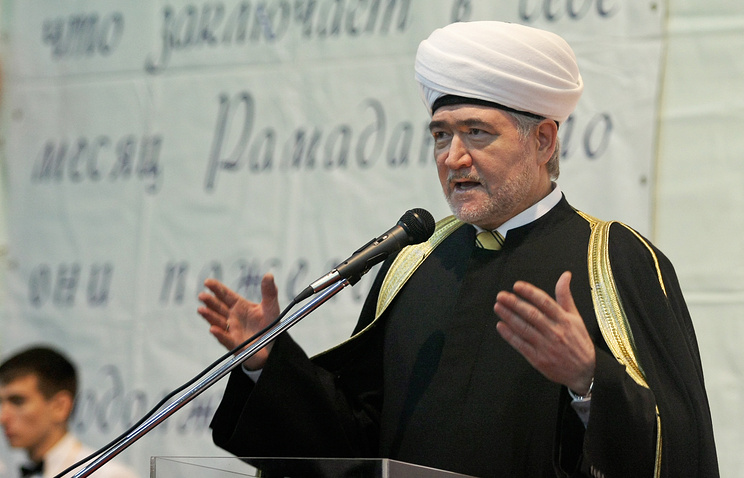 Chairman of Russia's Central Moslem Religious Department, Dr. Ravil Gainutdin