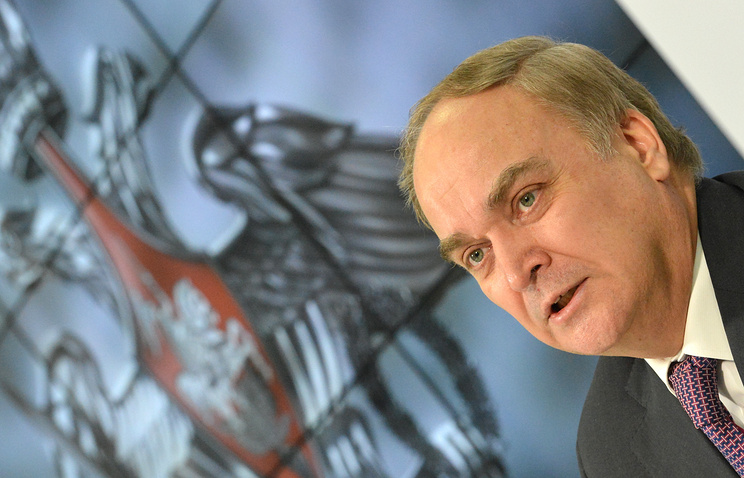 Russian Deputy Defence Minister Anatoly Antonov
