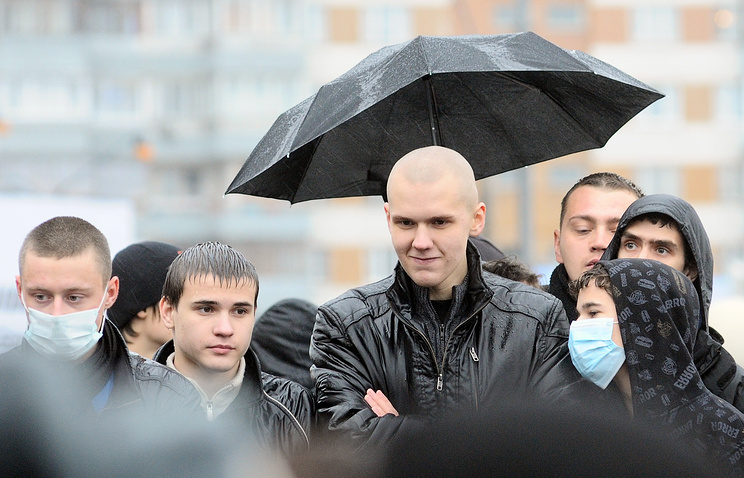 Russian nationalists in 2010 (archive)
