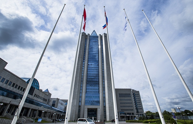 Gazprom headquarters