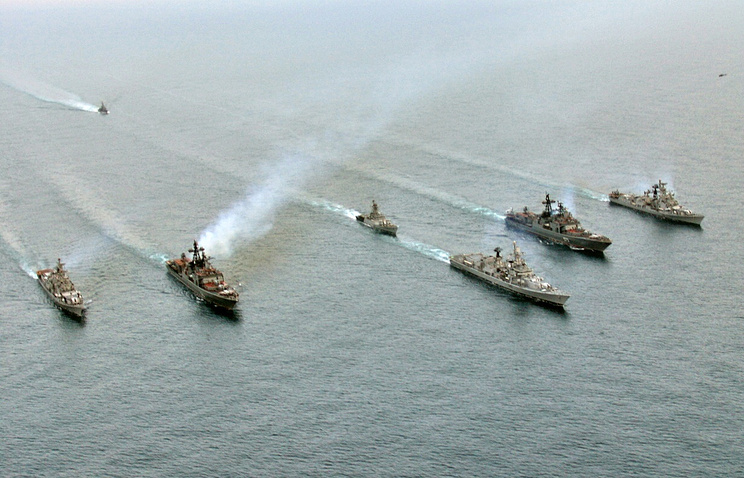 Russian-Indian Indra drills in 2007 (archive)