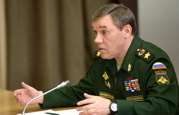 Russia's Chief of General Staff Valery Gerasimov