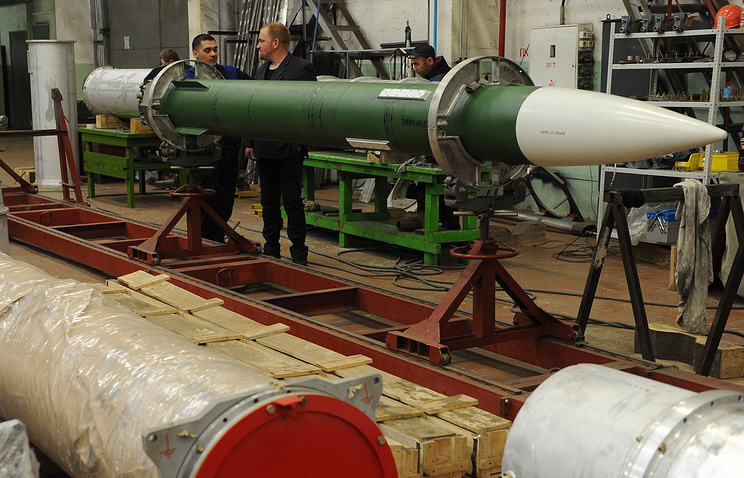 S-300 air defense system manufacturing site