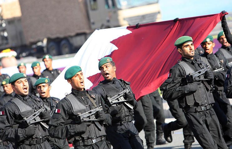 Qatari armed forces