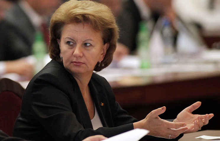 Zinaida Greceanii, the chairman of the faction of Moldovan socialists