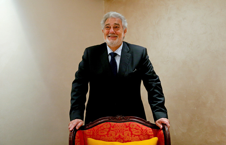 Spanish tenor Placido Domingo