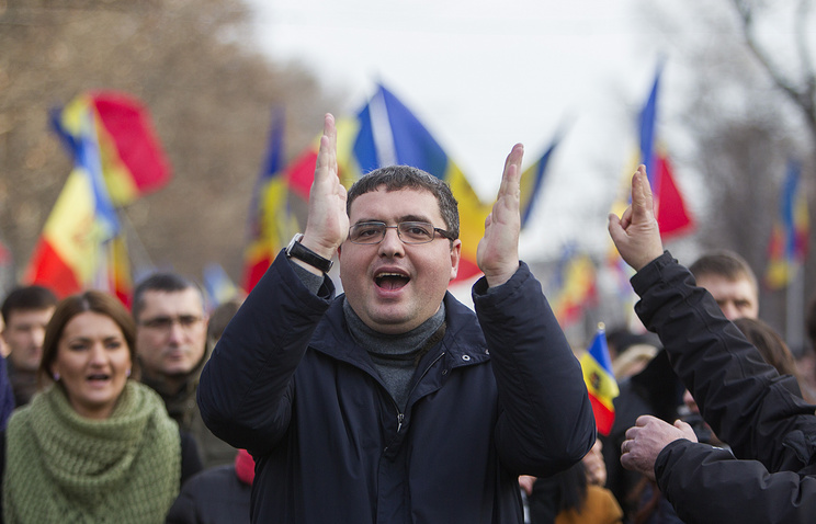 Moldovan Our Party leader Renato Usatii