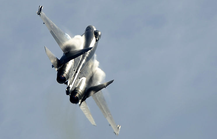 Russia's Sukhoi Su-35 fighter