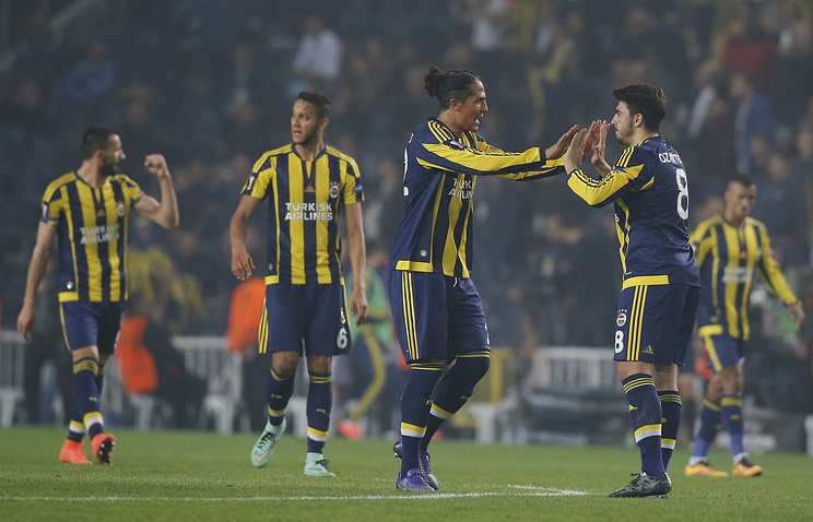 Fenerbahce's players