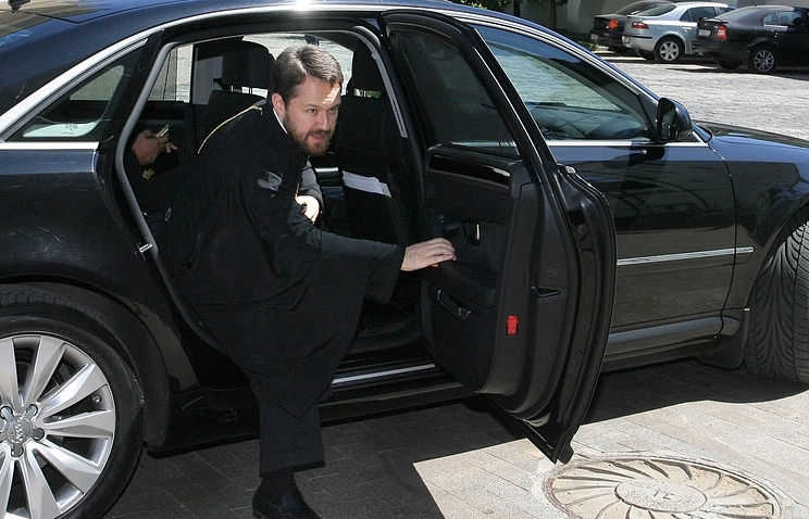 Chairman of the Moscow Patriarchate's External Church Relations Department Metropolitan Hilarion