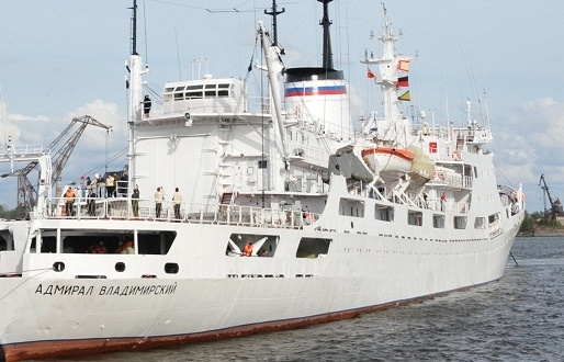 The Admiral Vladimirsky research ship