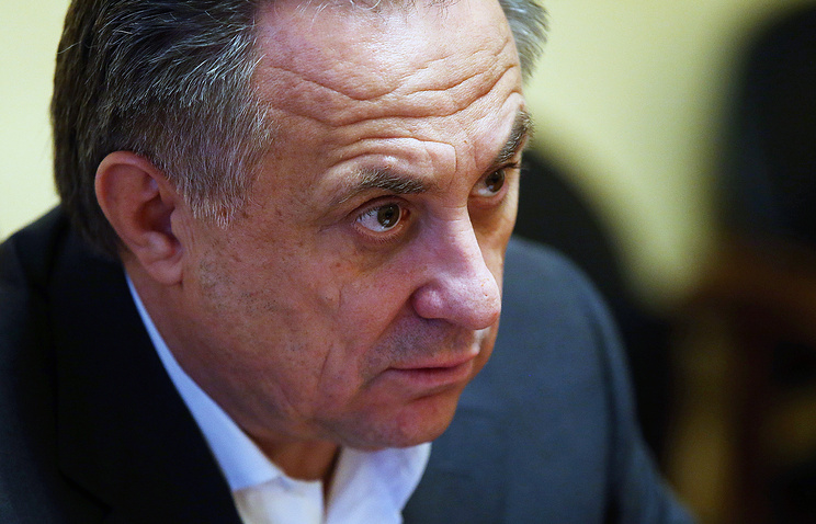 Russian Ministry of Sports Vitaly Mutko