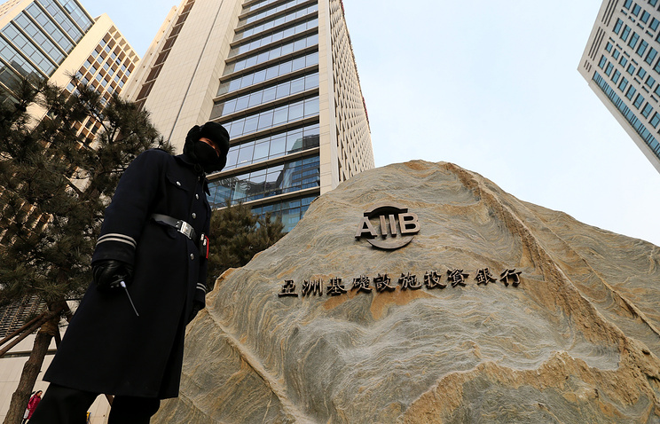 Asian Infrastructure Investment Bank (AIIB) headquarters in Beijing, China