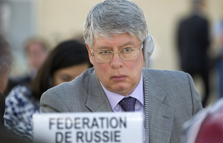 Alexey Borodavkin, Ambassador of the Permanent Representative Mission of Russia to Geneva
