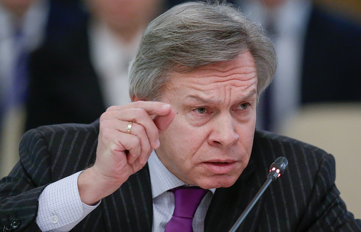 Chairman of Russian State Duma's International Affairs Committee Alexey Pushkov