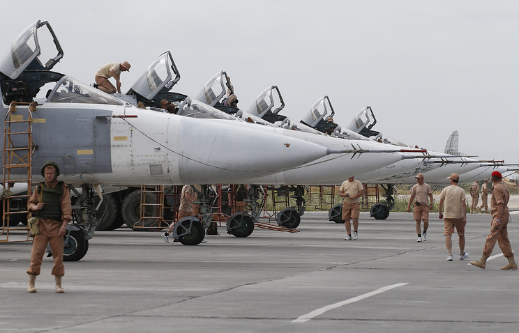 Russian airspace forces in Syria