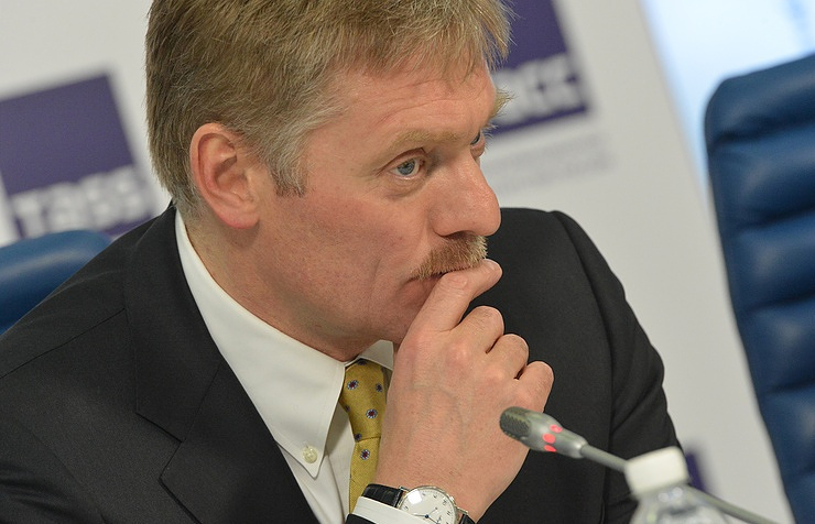 Russian president's press secretary Dmitry Peskov