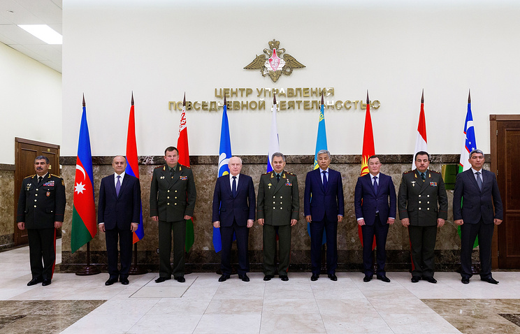 Defense ministers of CIS countries