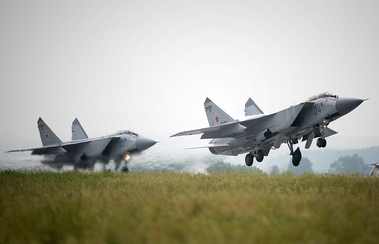 MiG-31 fighters