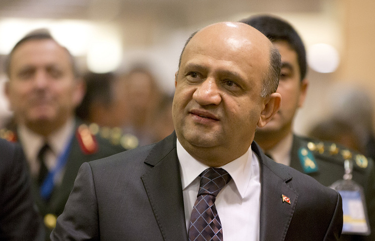 Turkey's Minister of National Defense Fikri Isik